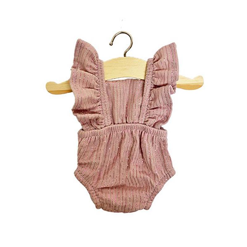 Immagine di Minikane® Vestito per le bamboleLou Lurex Rose 34cm