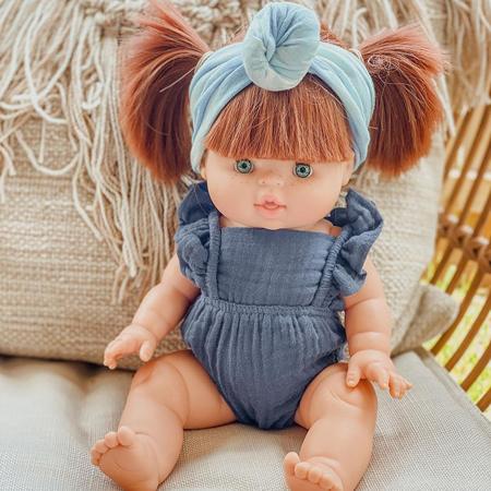 Minikane® Vestito per le bamboleLou Lurex Rose 34cm