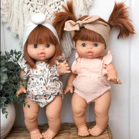 Minikane® Vestito per le bambole Maya Flowers Print 34cm