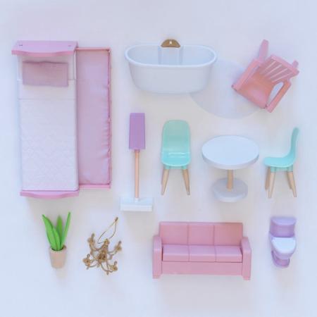Immagine di KidKraft® Casa delle bambole Elise Dollhouse