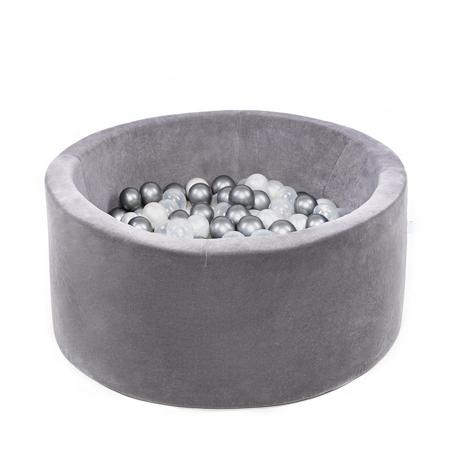 Immagine di Misioo® Piscina con palline Grey Velvet Collection