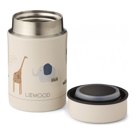 Liewood® Termo contenitore Nadja Safari Sandy Mix 250ml