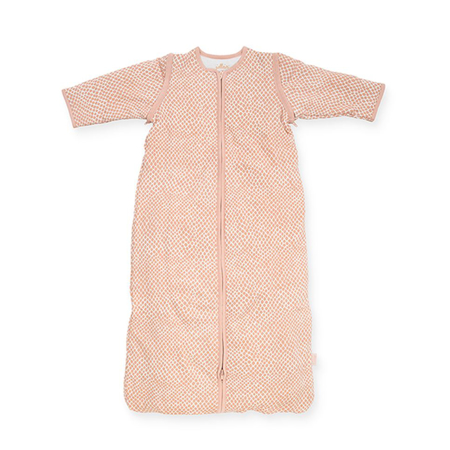 Immagine di Jollein®  Sacco nanna per bambini con maniche staccabili 90cm Snake Pale Pink TOG 2.0