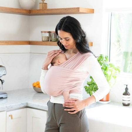 Immagine di Ergobaby® Fascia Porta Bebè Wrap Blush Pink