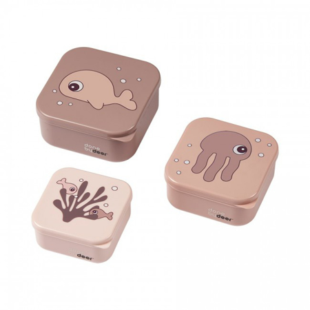 Immagine di Done by Deer® Contenitori merenda Sea friends Powder