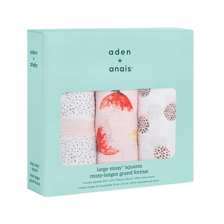 Immagine di Aden+Anais® Set di 3 pannolini tetra Picked for You 70x70