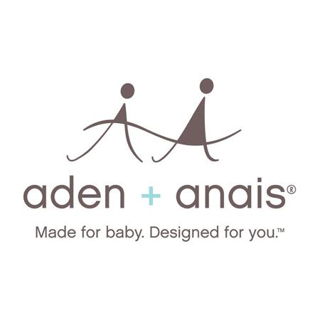 Aden+Anais® Set di 3 bavaglini Petal Blooms