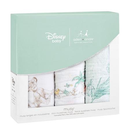 Aden+Anais® Set di 3 pannolini tetra Disney Il Re Leone 70x70