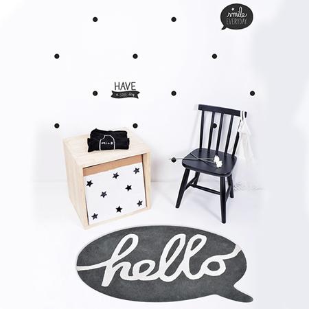 Immagine di Lilipinso® Tappeto Hello 90x65