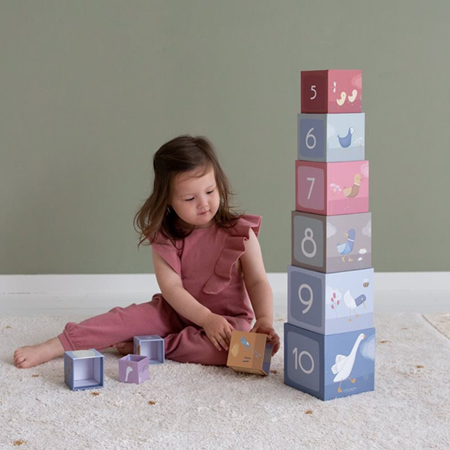 Little Dutch® La piramide di cubi Little Goose