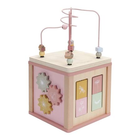 Immagine di Little Dutch® Cubo delle attività Little Goose Wild Flowers
