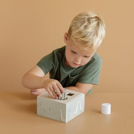Little Dutch®  Cubo per ordinare le forme Little Goose