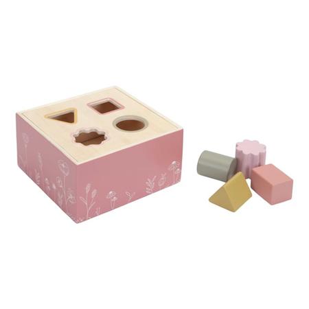 Immagine di Little Dutch®  Cubo per ordinare le forme Wild Flowers