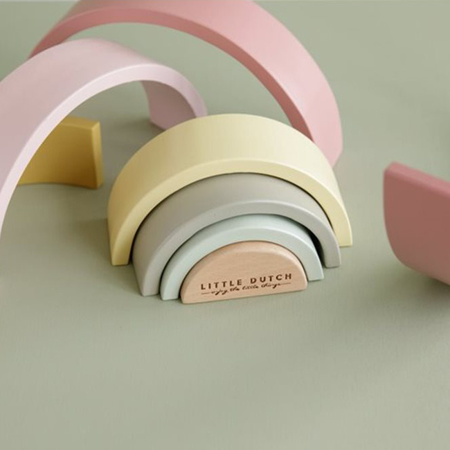 Little Dutch® Arcobaleno in legno Pink