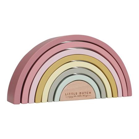 Immagine di Little Dutch® Arcobaleno in legno Pink