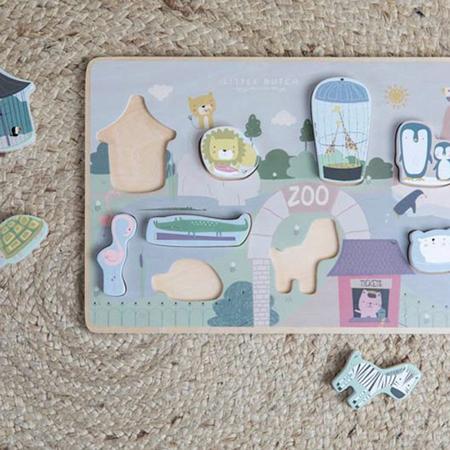 Little Dutch® Puzzle in legno Zoo