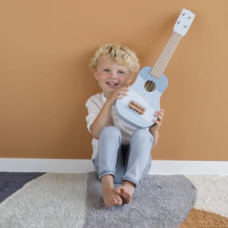 Little Dutch®  Chitarra per bambini in legno Blue