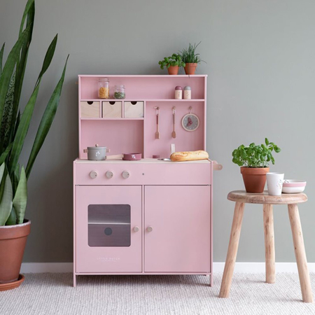 Little Dutch® Cucina in legno per bambini kuhinja Pink
