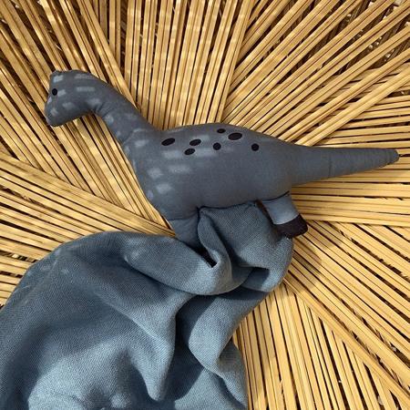 Liewood® Doudou Agnete Dino Blue Wave 35x35