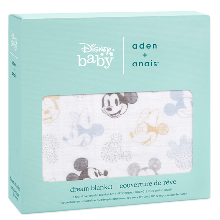 Aden+Anais® Copertina Disney Mickey + Minnie 120x120