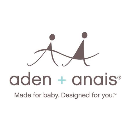 Immagine di Aden+Anais® Telo di mussola di cotone Picked for You Poppies 120x120