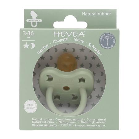 Immagine di Hevea® Ciuccio ortodontico in caucciù Colourful (3-36m) Sea Green