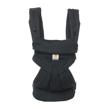 Ergobaby® Marsupio portabebè 4 posizioni  360 Cool Air Pure Black