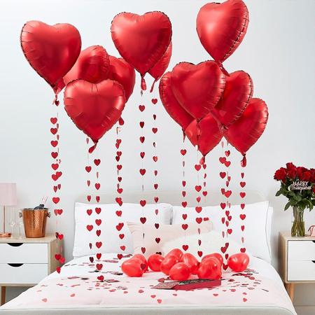 Immagine di Ginger Ray® Set di palloncini I Heart You