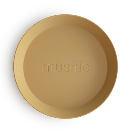 Mushie® Set due piatti Mustard