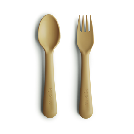 Immagine di Mushie® Posate per bambini Mustard