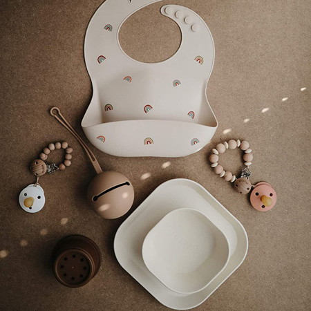 Immagine di Mushie® Set di due ciotole Woodchuck
