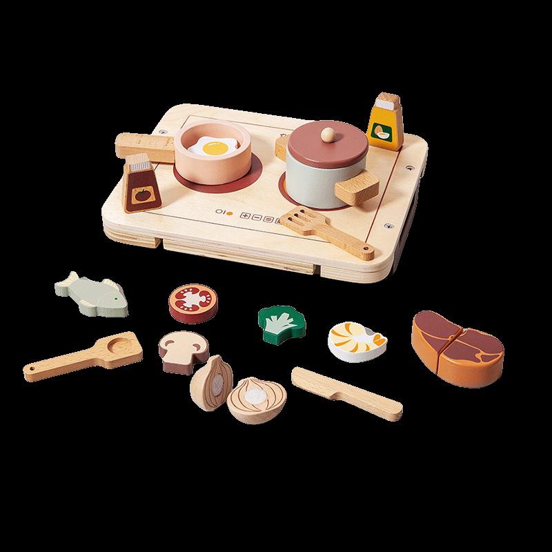Immagine di Petit Monkey® Set in legno Dinner