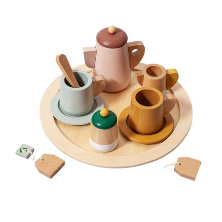 Immagine di Petit Monkey® Set in legno Tea party