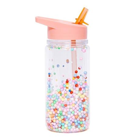 Immagine di Petit Monkey® Bottiglia con cannuccia Marcaron Pops Soft Coral