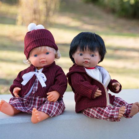 Miniland® Vestito per bambole 38cm