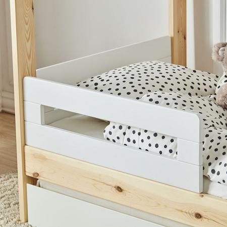 Quax® 2x barra protezione per lettino casetta My Home White