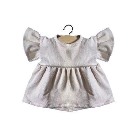 Minikane® Vestito per le bambole Milleraies Ecru 34cm