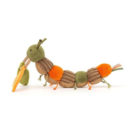 Jellycat® Gioco di attivita di peluche Christopher Caterpillar 12x23