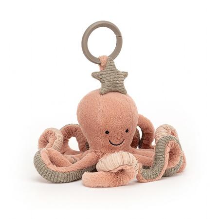 Immagine di Jellycat® Gioco di attivita di peluche Odell Octopus 10x20