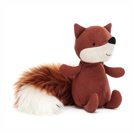 Jellycat® Peluche Suedetta Fox 17x5