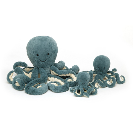 Jellycat® Peluche Storm Octopus Tiny 14x7