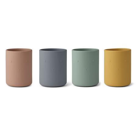 Immagine di Liewood® Set 4 bicchieri in silicone Ethan Rabbit Multi Mix