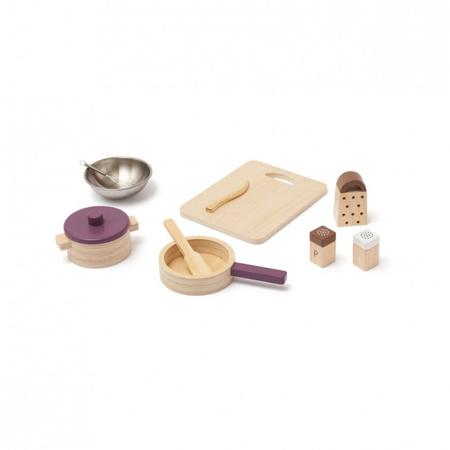 Immagine di Kids Concept® Utensili da cucina in legno Bistro