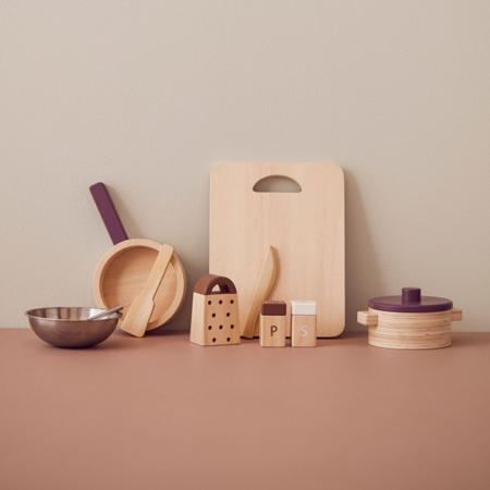 Kids Concept® Utensili da cucina in legno Bistro