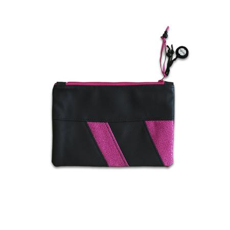 Immagine di Ksenka® Beauty case fatto a mano Black & Pink