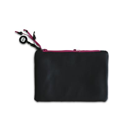 Ksenka® Beauty case fatto a mano Black & Pink