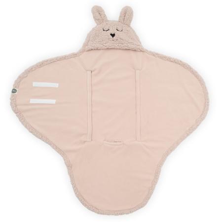 Jollein® Copertina per neonati Bunny Pale Pink 105x100