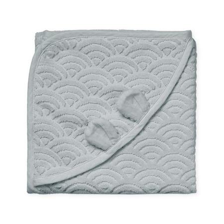 Immagine di CamCam® Asciugamano con cappuccio e orecchie Classic Grey 80x80