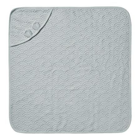 CamCam® Asciugamano con cappuccio e orecchie Classic Grey 80x80