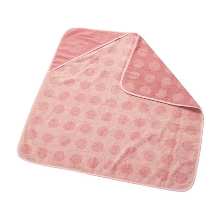 Immagine di Leander® Asciugamano in cotone con cappuccio Dusty Rose 80x80